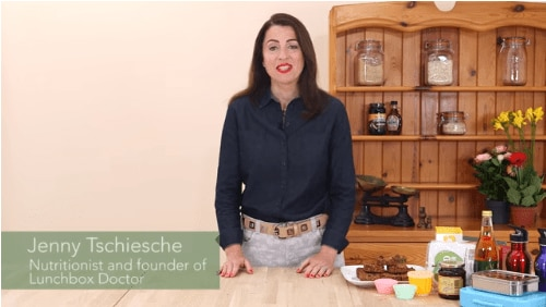Jenny Tschiesche, A Nutritionist and Lunchbox Doctor Founder