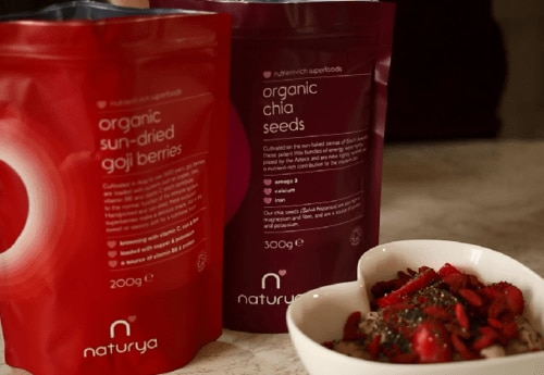Carly Rowena's top tips on how to use the Naturya superfood range