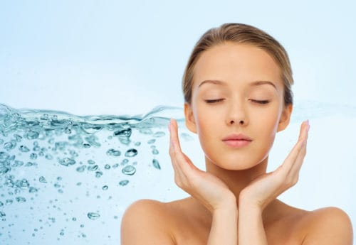 How water helps your skin