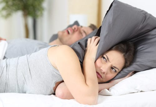 Six ways to help stop your partner snoring