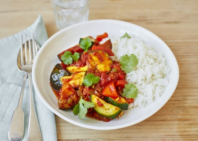 Vegan low-cal curry