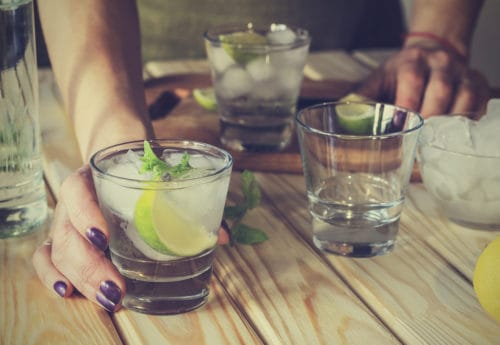 How many calories are in your alcoholic drink?