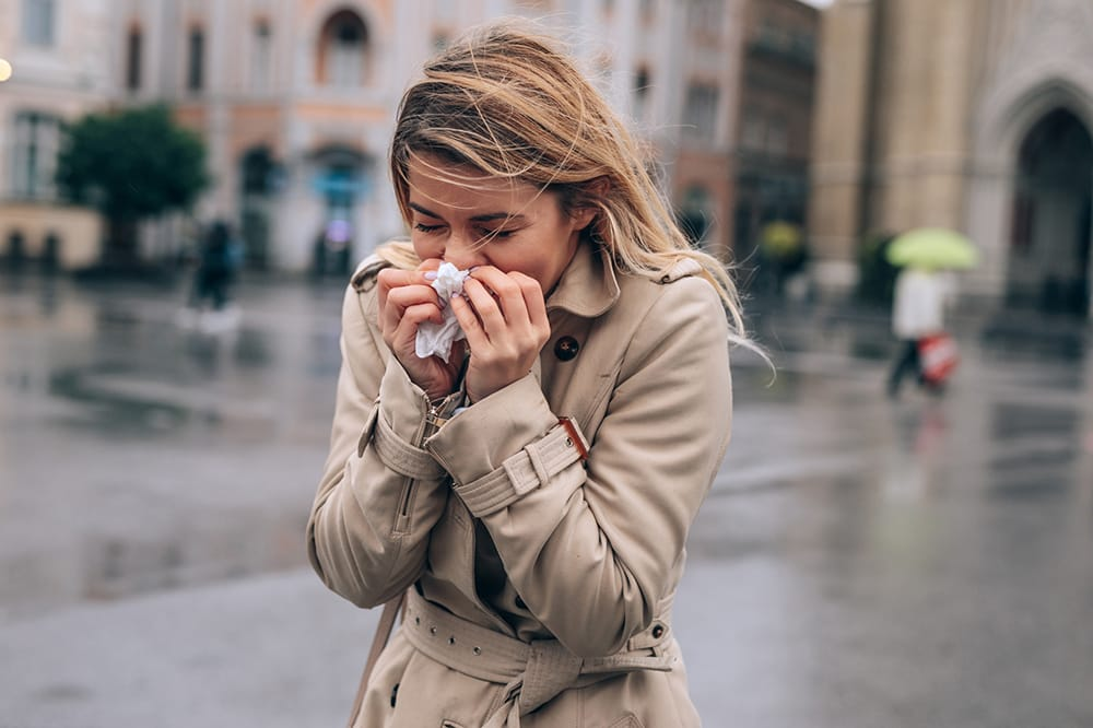 Why am I more likely to be ill during the winter?