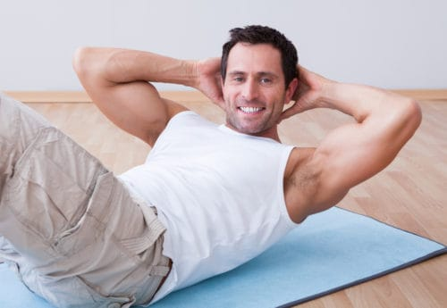 Weight loss and exercise for men