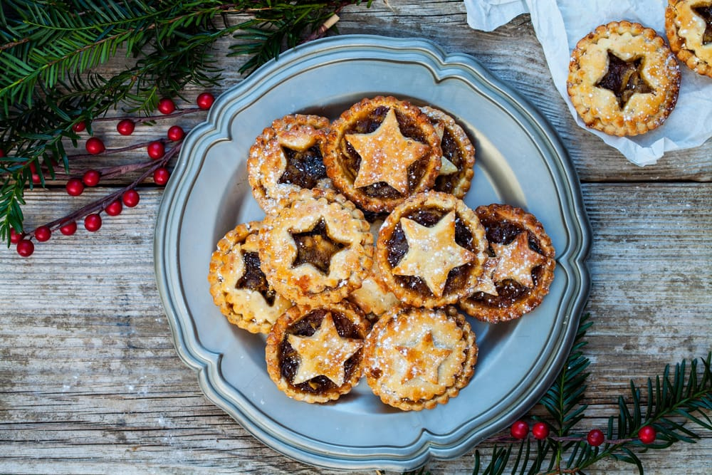 Dairy free mince pies