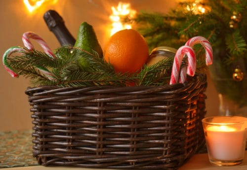 The perfect Christmas hamper filled with baked treats