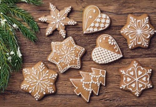 Gluten-free gingerbread biscuits recipe