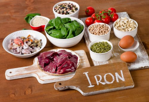 Iron heavy foods