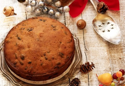 How to make a dairy and gluten free Christmas cake