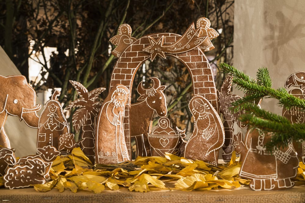 Gingerbread nativity scene recipe