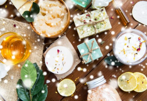 12 days of Christmas in organic beauty