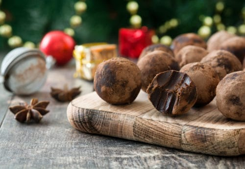 Healthy Christmas truffles recipe