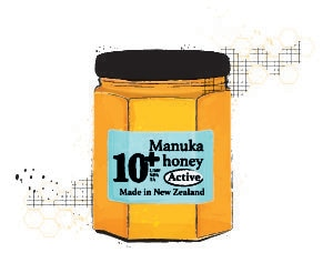 Manuka Honey jar