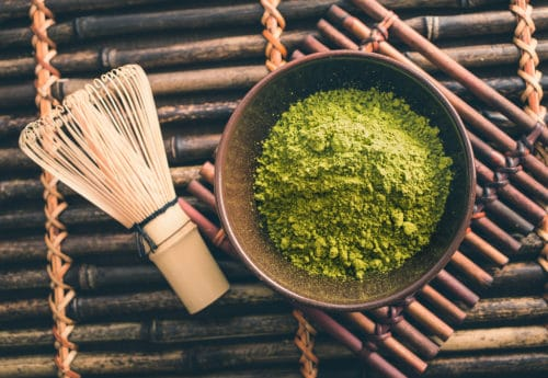 Matcha green tea is not just for drinking