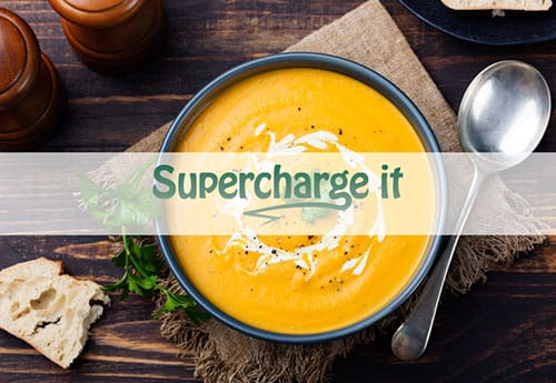 Recipe: carrot, ginger and turmeric soup