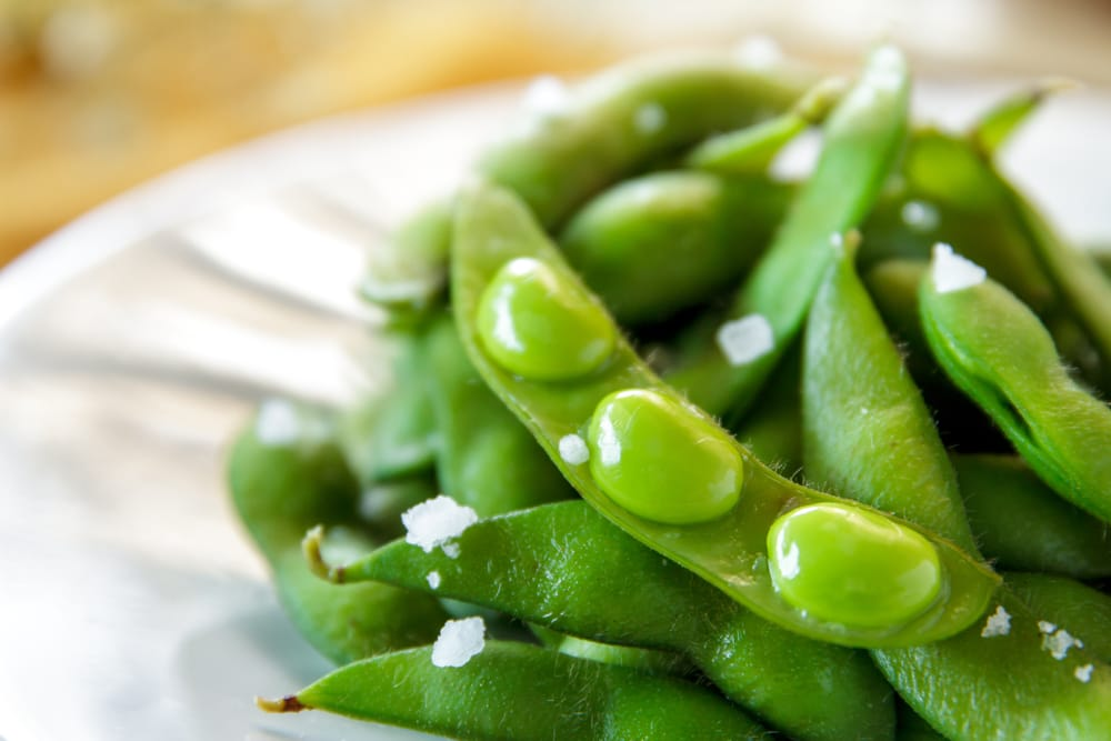 Vegan-friendly, protein-packed edamame beans