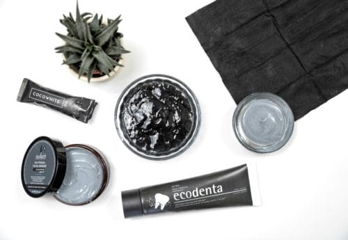 Selection of charcoal products