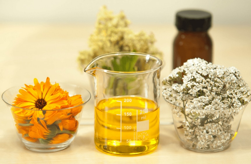 DIY Aromatherapy: boost your moisturiser with chamomile and rose