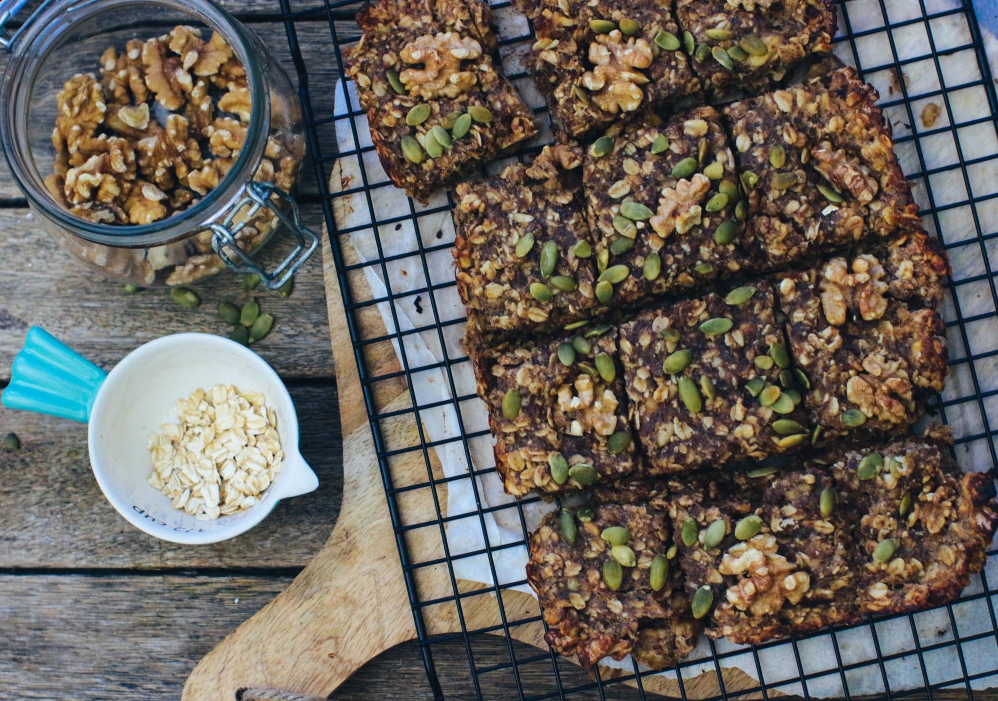 Rebel Recipes banana, date and walnut flapjacks | Holland ...