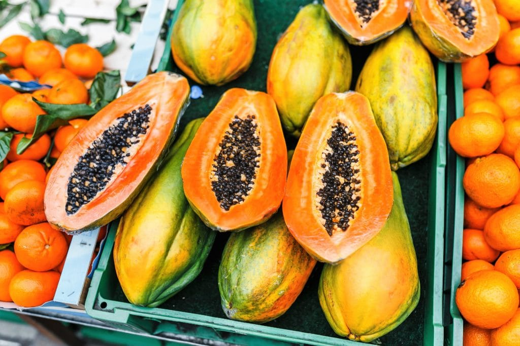 What is papaya enzyme?