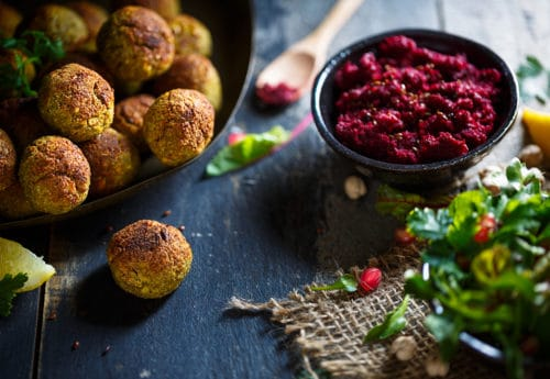 Boost your energy with falafel balls