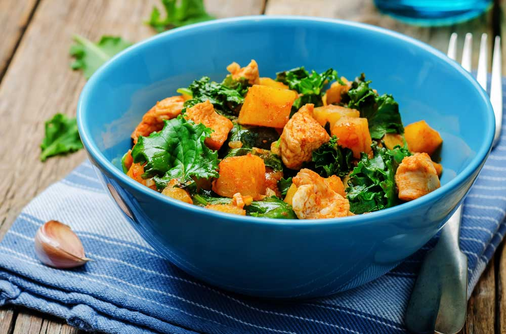 Tuck in to this vitamin A-rich salad