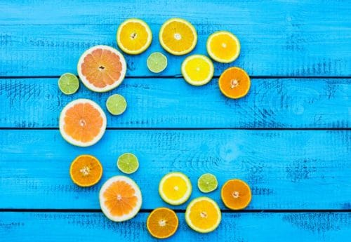 Get glowing skin with vitamin C