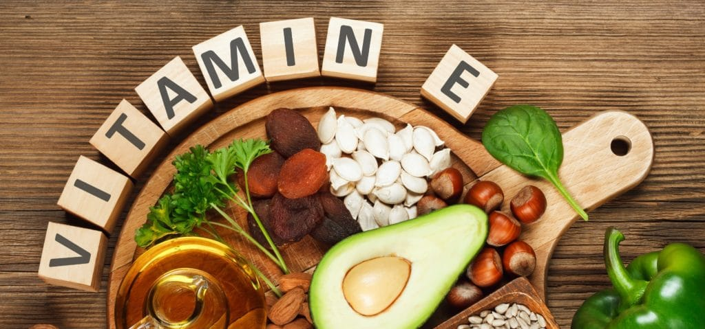 A day of vitamin E rich eating