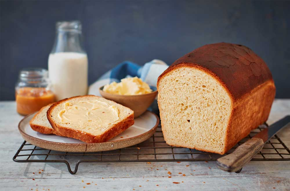 Milk and Honey Bread