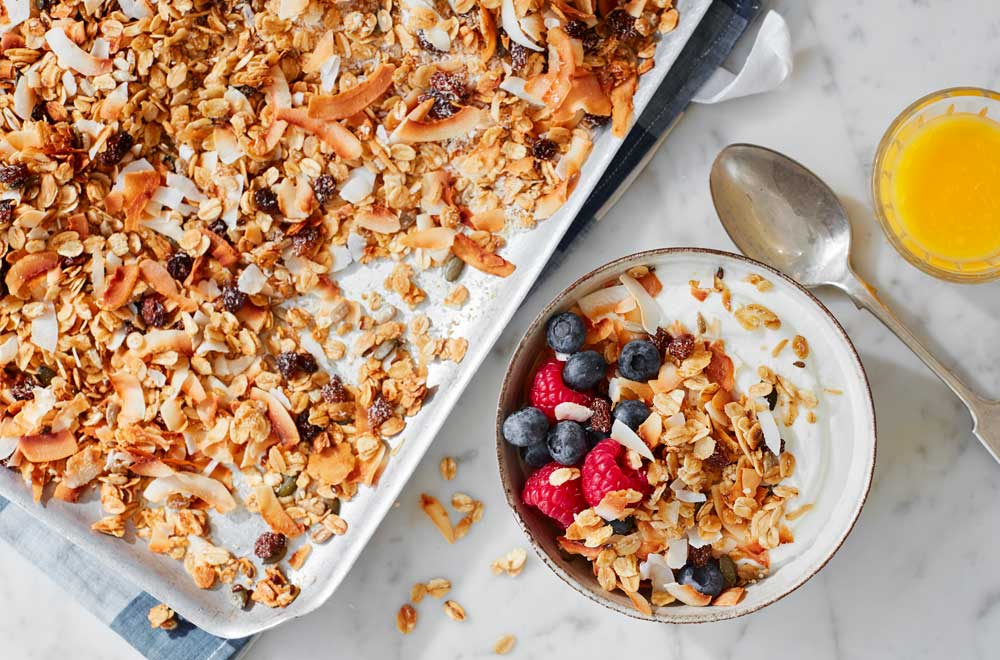 Honey and Coconut Granola
