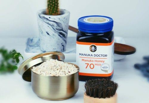 Manuka Honey & Oat Face Scrub