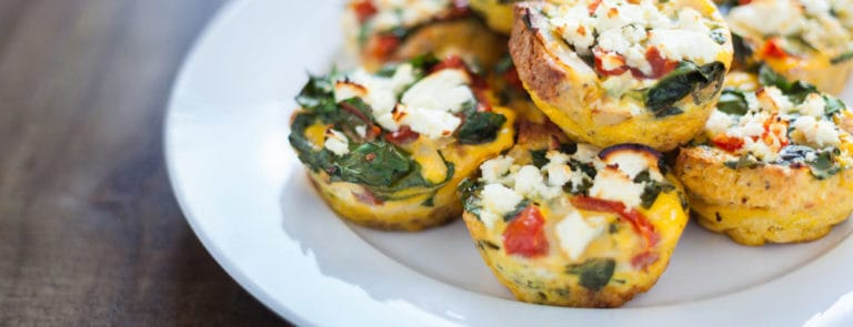 Frittata muffins for healthy eyes