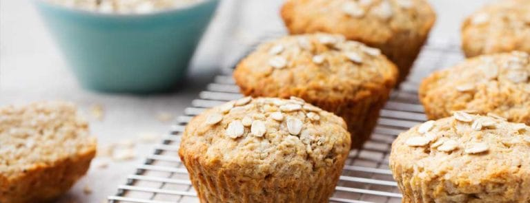Muffins for breast-feeding mums