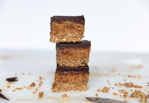 Vegan Coconut & Almond Butter Slices