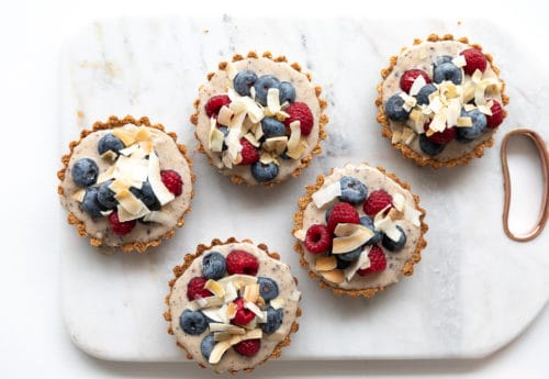 Vegan Very Berry Tartlets