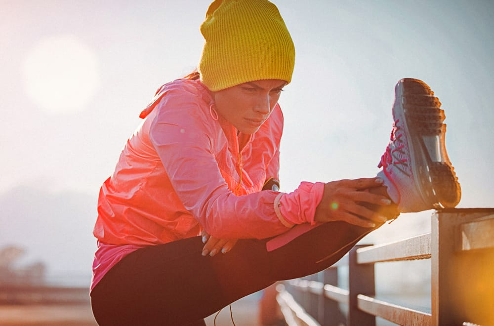 Get set to exercise in the cold