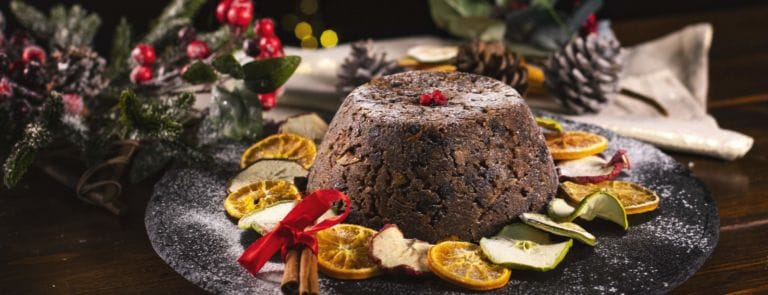 easy gluten free Christmas pudding