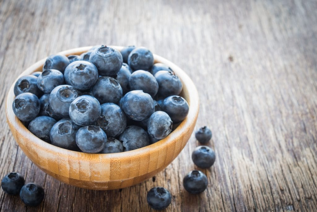 Blueberries for muscle soreness