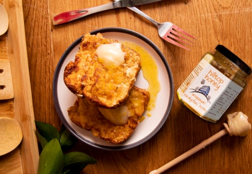 Honey, Orange & Almond French Toast