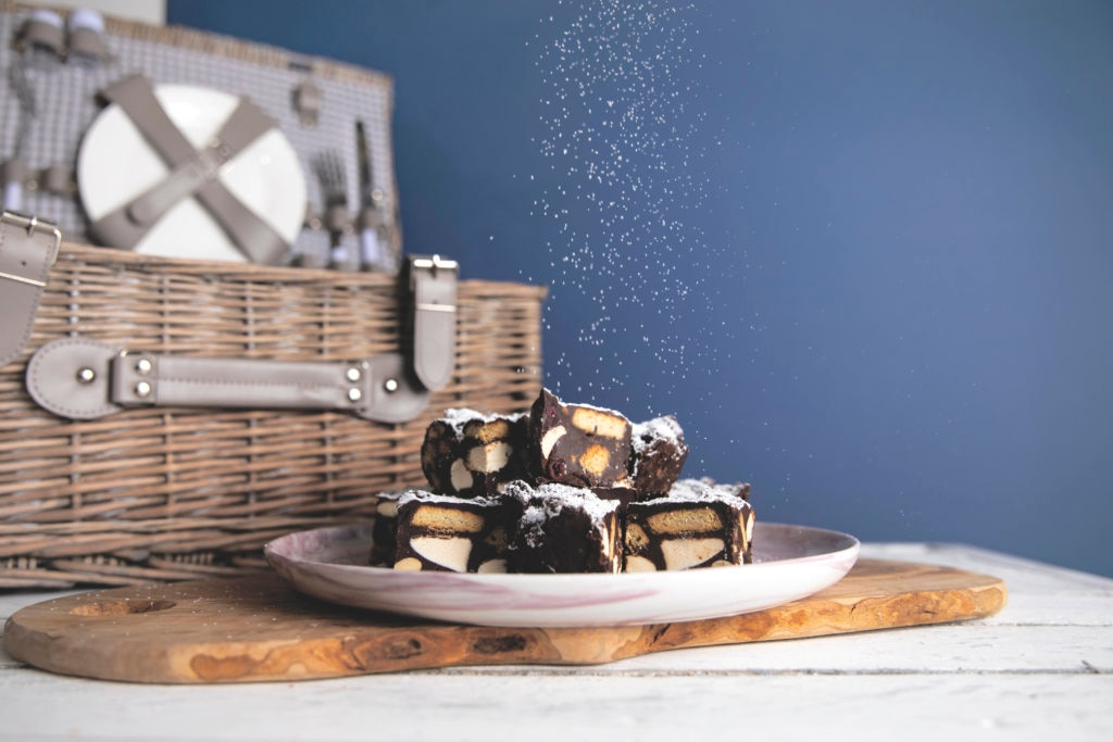 Vegan Marshmallow Rocky Road