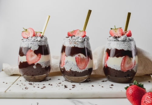 Chocolate & Chia Dessert