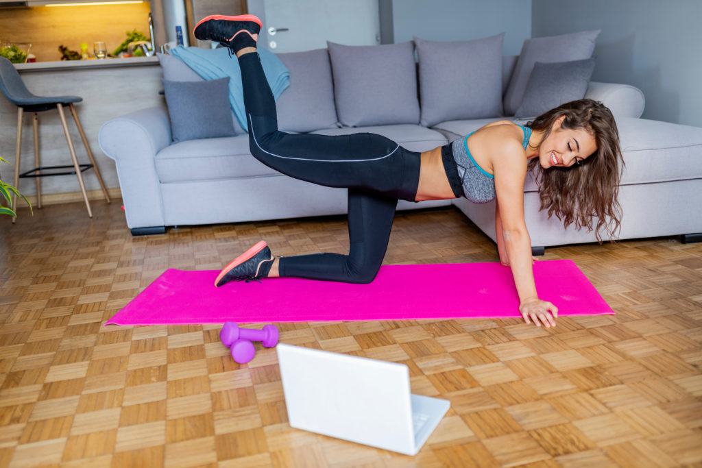 Keep motivated with virtual gym classes