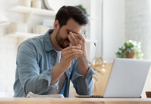 Causes and symptoms of eye strain