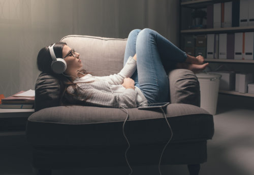 Relaxing podcasts for good mental health