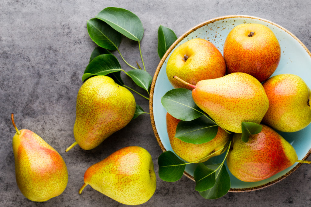 The benefits of eating pears