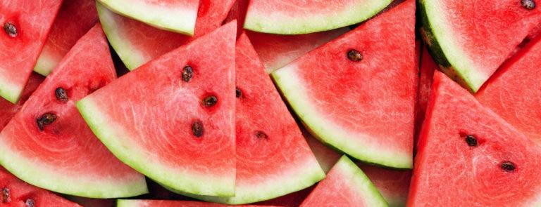 chopped fresh watermelon