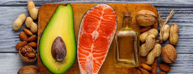 The different healthy fat foods