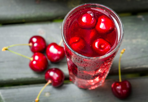 cherry juice may help to treat gout