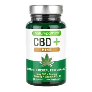 Naturopathica CBD+ Mind Capsules