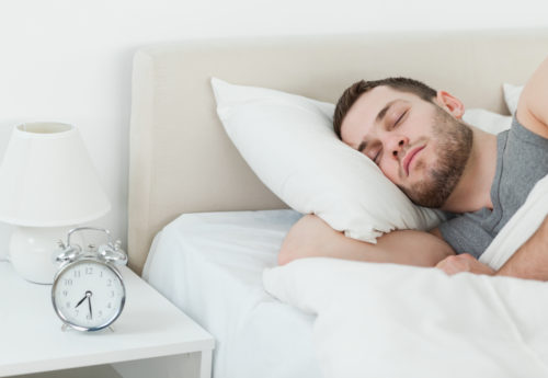 man in the rem stage of sleep
